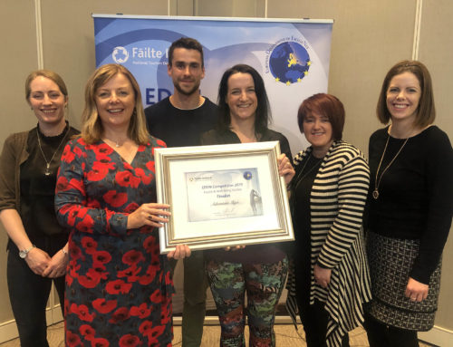 European success for Sligo. Adventure Sligo runner up in Eden Awards.